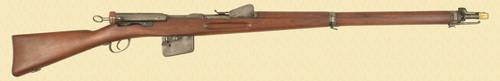 SWISS MODEL 1889 INFANTRY RIFLE - Z41456