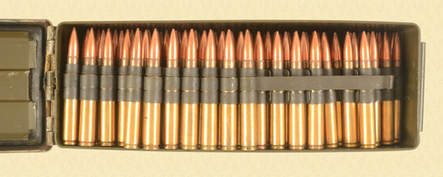 US CAL.30 CARTRIDGES LINKED BALL - C43440