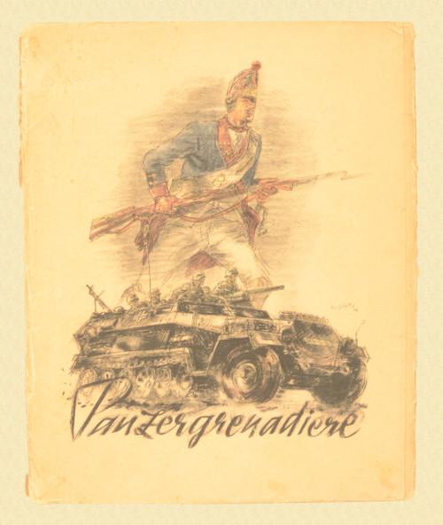 WALTER GOTSCHKE PANZERGRENADIER PORTFOLIO - M7581