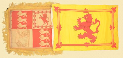 SCOTTISH LION RAMPANT FLAG LOT OF 2 - C43799