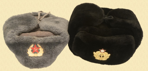 RUSSIAN HATS WITH EMBLEMS - C43975