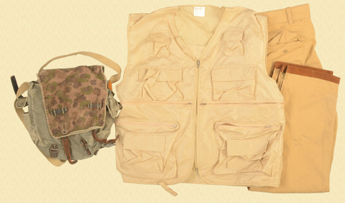 MILITARY RUCKSACK VEST PANTS - C43803