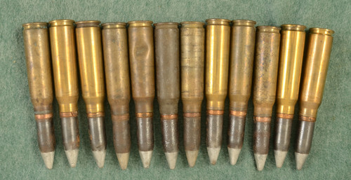 USGI 20MM CANNON 11 INERT ROUNDS - C43983