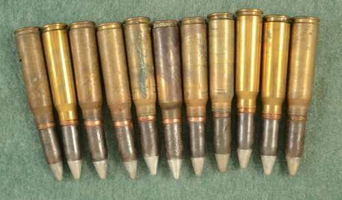 USGI 20MM CANNON 11 INERT ROUNDS - C43985