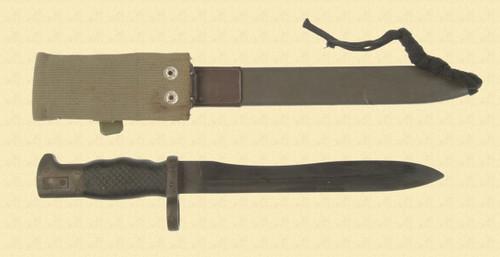 SPANISH M1969 CETME BAYONET - M4388