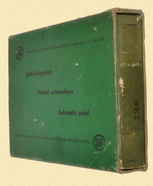 SIG 210 ORIGINAL BOX - M7617