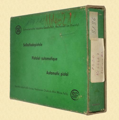 SIG 210 ORIGINAL BOX - M7618