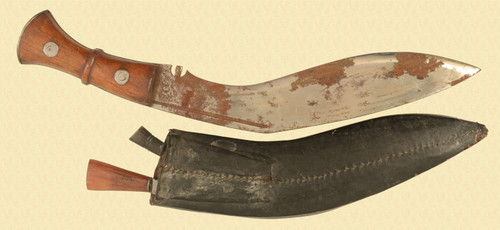 GURKHA KUKRI 12'' WITH LEATHER SHEATH - M7619