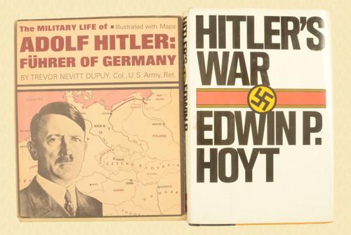 BOOK HITLERS WAR - C44204