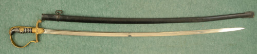 EICHORN SOLINGEN NAZI OFFICERS SWORD AUTHENTIC - M7635