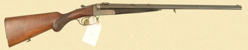 EDWARD KETTNER BOXLOCK DOUBLE RIFLE - D15814