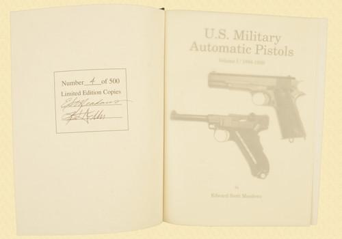 U S MILITARY PISTOLS 1894 - 1920 DELUXE VOL 1 - C43632