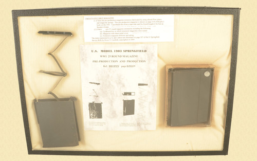US 1903 SPRINGFIELD 2 TWENTY FIVE SHOT MAGAZINES - C44075