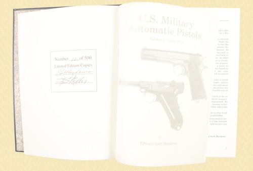U S MILITARY PISTOLS 1894 - 1920 DELUXE VOL 1 - C43638