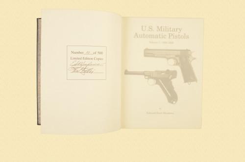 U S MILITARY PISTOLS 1894 - 1920 DELUXE VOL 1 - C43639