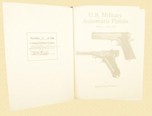 U S MILITARY PISTOLS 1894 - 1920 DELUXE VOL 1 - C43635