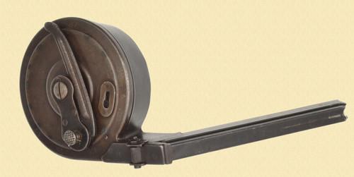BING NURNBERG LUGER SNAIL DRUM - M7778