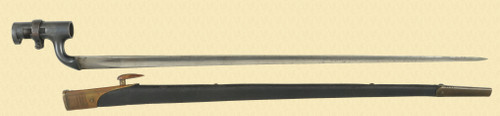 MARTINI HENRY 1876 BAYONET - C45507
