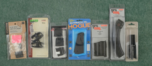 PRO MAG RUGER 10/22 MAGAZINE + MISC MAGS - C45686