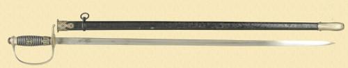 GERMAN POLICE DRESS SWORD - C45724