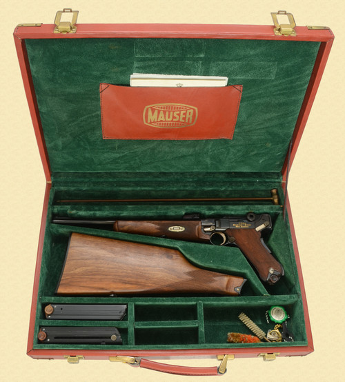 MAUSER 75 YEAR COMMEMORATIVE CARBINE CASED - Z42672