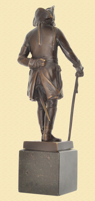 """Fredrick the Great"" Bronze Statue - C45920"