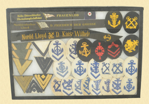 German WWI Navy Patches - M7846