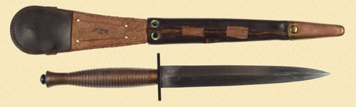 FAIRBAIRN SYKES THIRD PATTERN FIGHTING KNIFE - C24458