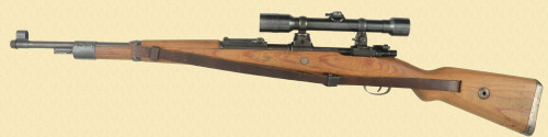 MAUSER K98 HIGH TURRET SNIPERS RIFLE - D13485