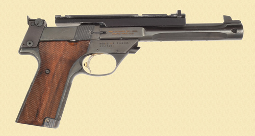 HIGH STANDARD SUPERMATIC TROPHY 107 MILITARY - C46337