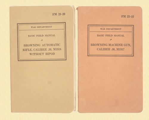 BOOKS USGI FIELD MANUALS LOT OF 2 - C46506