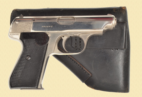 SAUER & SOHN 38H W/HOLSTER - CAPTURE PAPERS - C46623
