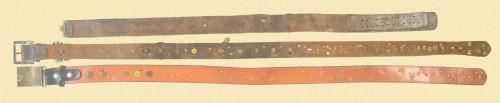 WW1 Set of 3 Hate Belts - M7880