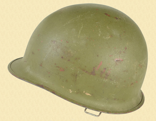 U.S. Original Post WWII Helmet - C48036