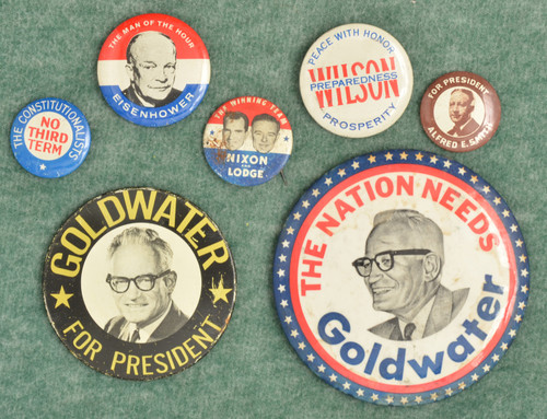 U.S. ELECTION BADGES - M7900