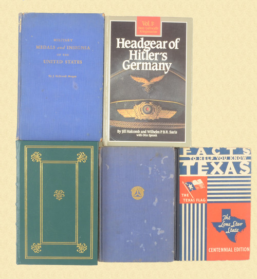 BOOK Lot of Five Military Books - C48058