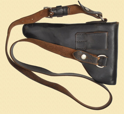 SWISS BASEL POLICE HOLSTER W/STRAPS - C40999