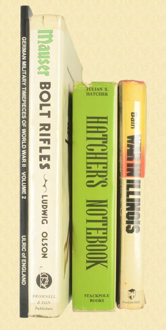 BOOK MAUSER BOLT RIFLES - PLUS OTHERS - C47048
