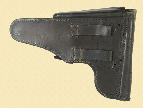 RUSSIAN FLAP COVER LEATHER HOLSTER - C47059
