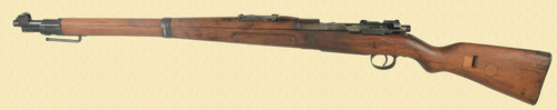 GERMAN 98K KAR 98  4mm CONVERSION TRAINING RIFLE - D11262