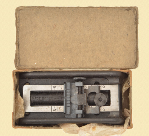 LYMAN THOMPSON REAR SIGHT ASSY - M8020