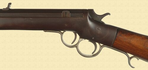 FRANK WESSON TWO TRIGGER SPORTING RIFLE - M3567