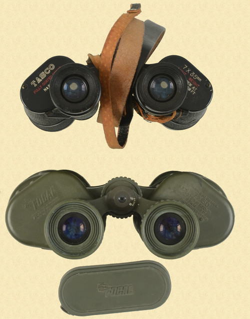 TASCO BINOCULARS LOT OF 2 - C30715