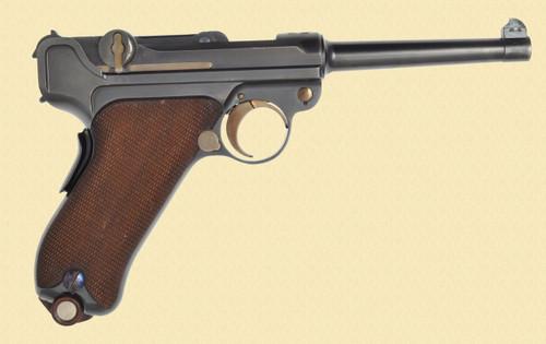 DWM LUGER SWISS MILITARY 1900 - Z37814