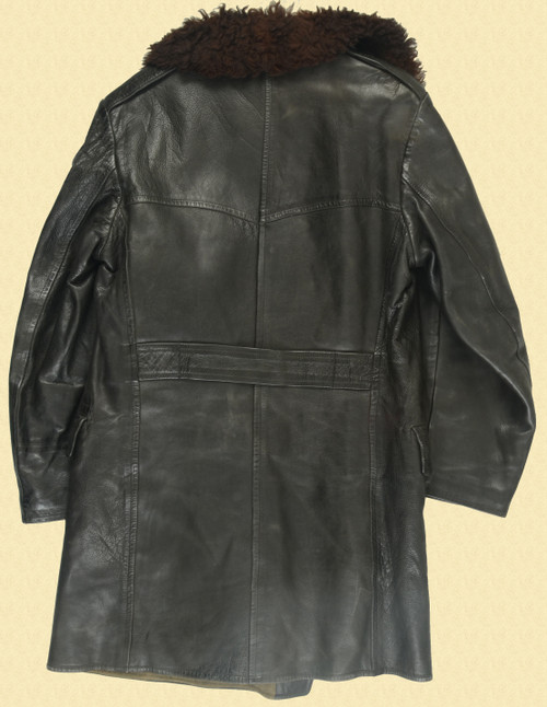 WWII LEATHER FIELD COAT - C30725