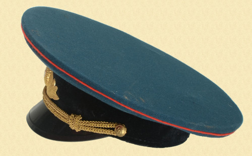 RUSSIAN ARMORED CORPS OFFICERS PARADE HAT - C30757