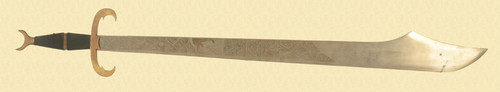 DECORATIVE EXECUTION SWORD - C30779