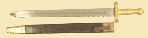 SWISS ARTILLERY SAWTOOTH SWORD - M8084