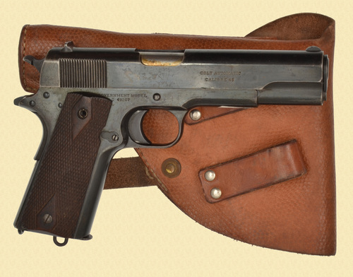 COLT 1911 RUSSIAN WITH FACTORY LETTER - Z45136