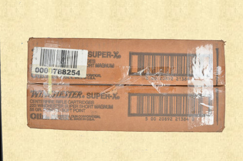 223 WINCHESTER SUPER SHORT MAGNUM AMMO - C41898